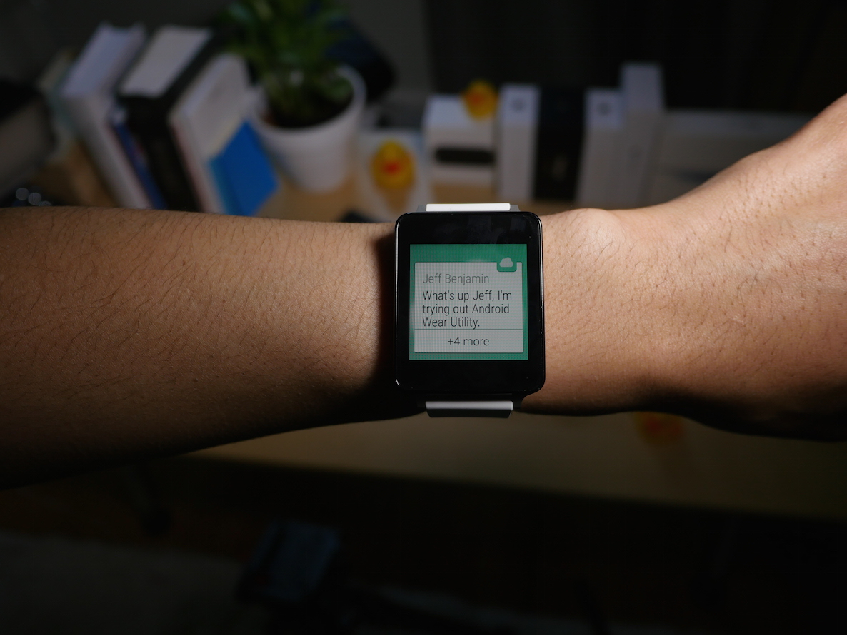 Android Wear Utility Screen