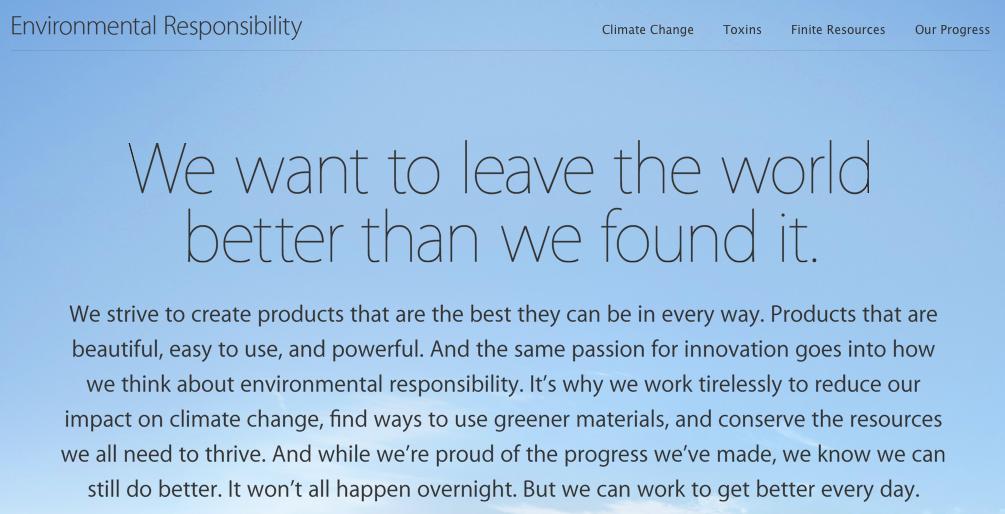 Apple Environmental REsponsibility teaser 001