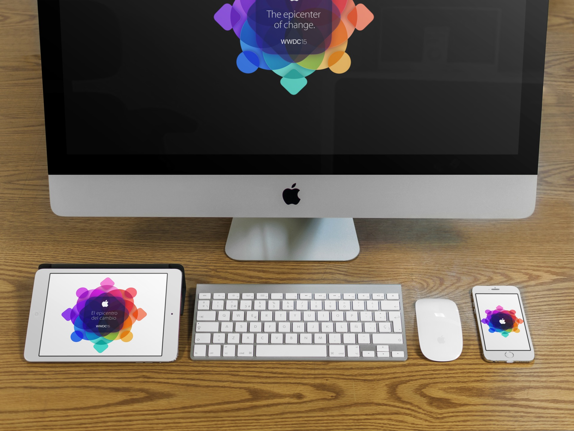 Apple WWDC 2015 Wallpaper Splash