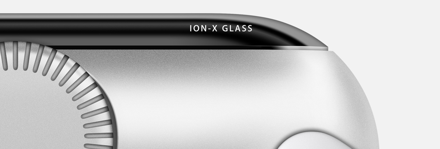 Apple Watch Craftsmanship Ion-X Glass
