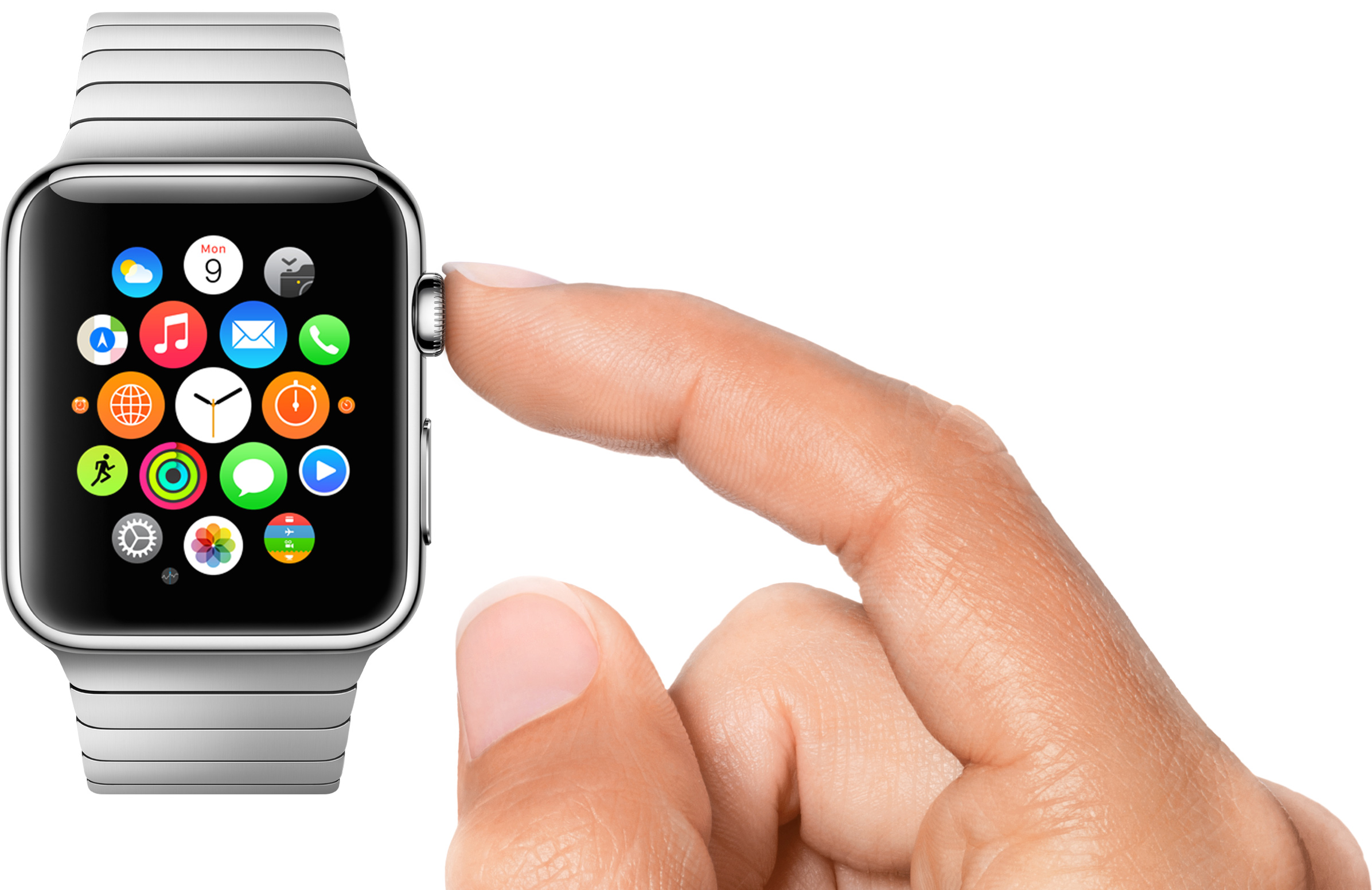 Apple Watch Digital Crown press