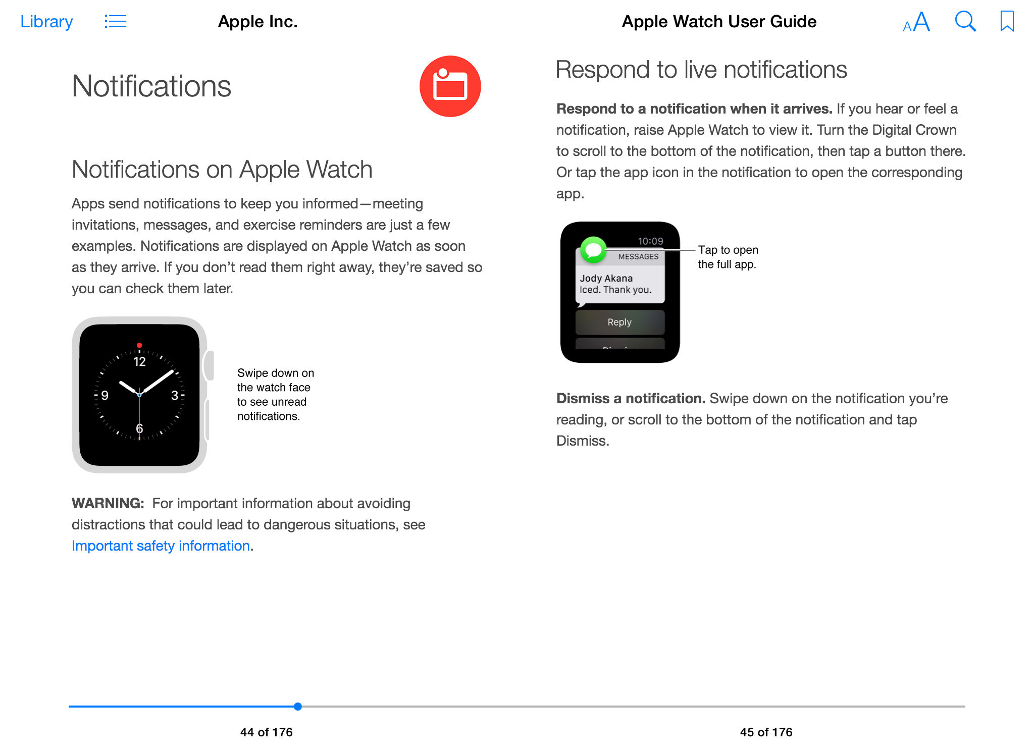 Apple Watch User Guide iBook screenshot 003