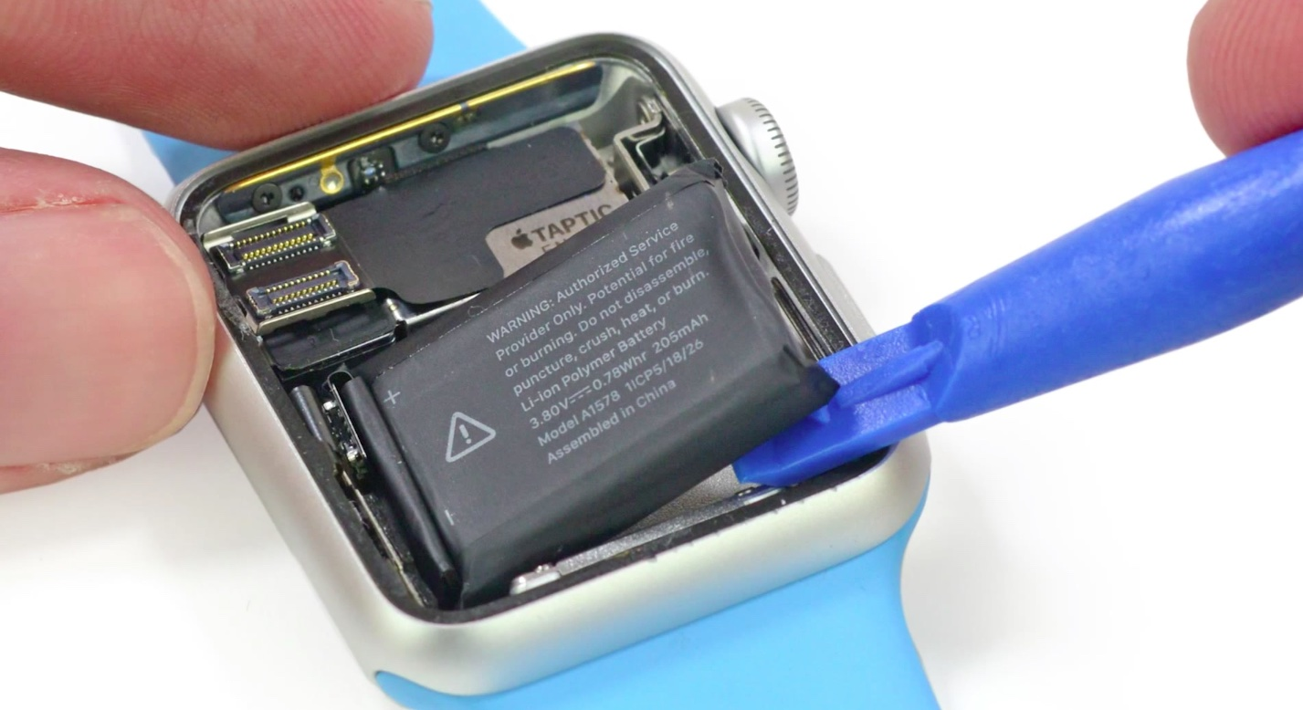 38mm Apple Watch Sport component costs estimated to begin ...