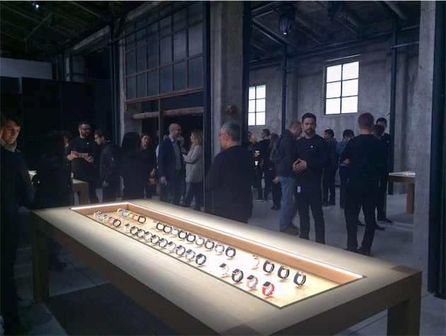 Apple Watch display Salone Del Mobile Design photo 001