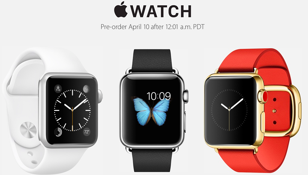 Apple Starts Pre-Orders Apple Watch Online