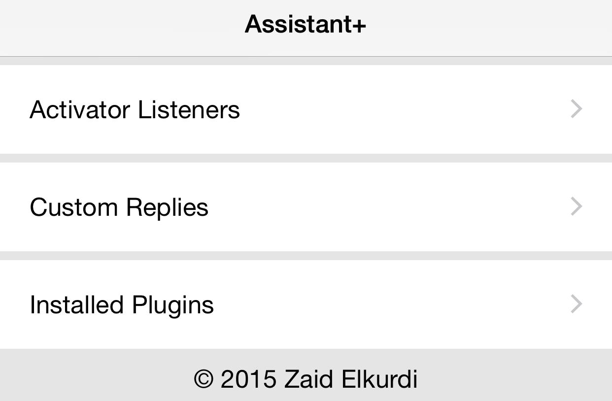 Assistant+ App