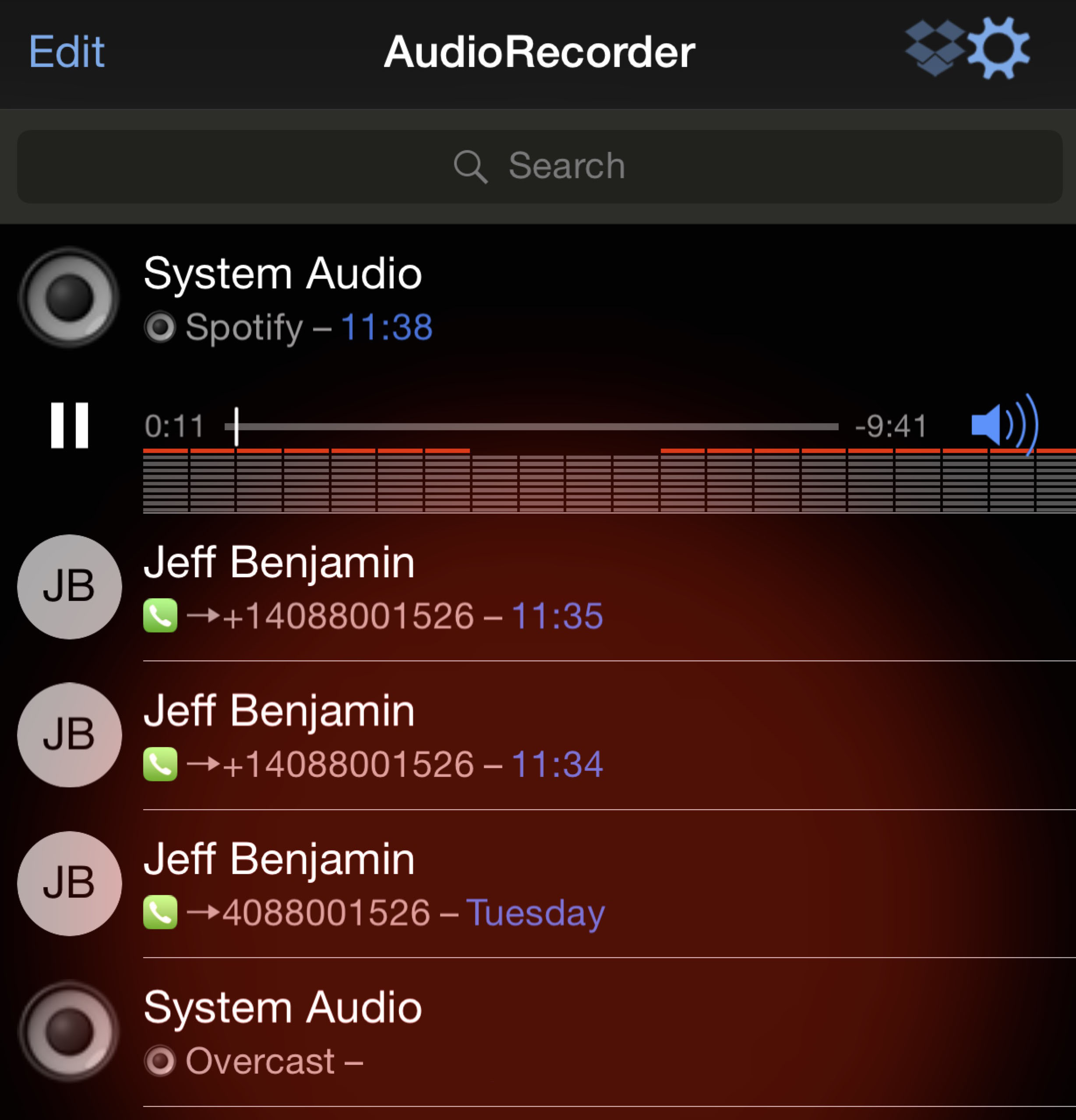 AudioRecorder Featured