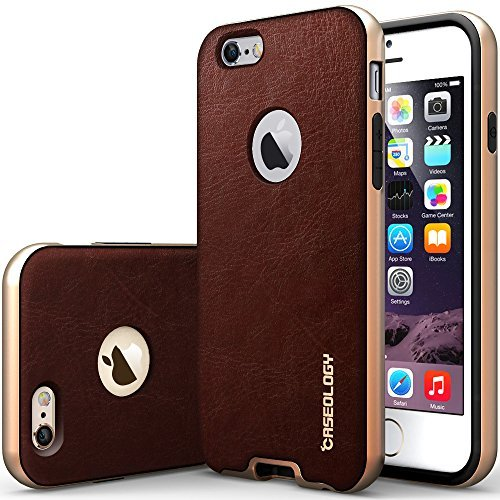 Caseology Bumper Frame Case Leather