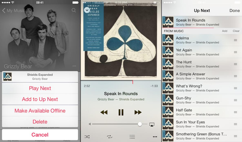 Music App iOS 8.4