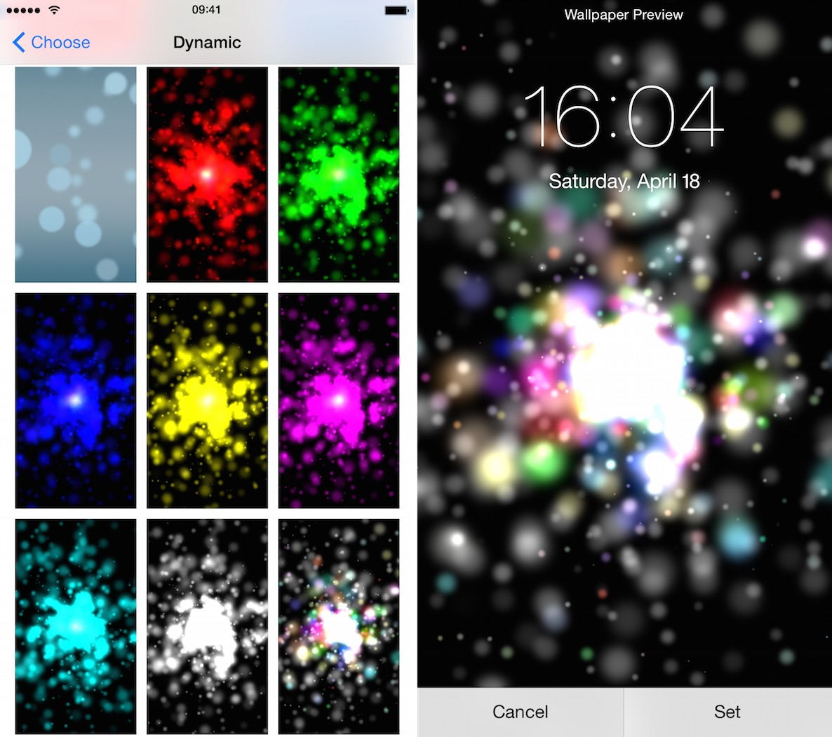 Particle Wallpapers