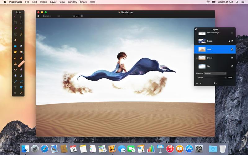 Pixelmator 3.3 for OS X Mac screenshot 002