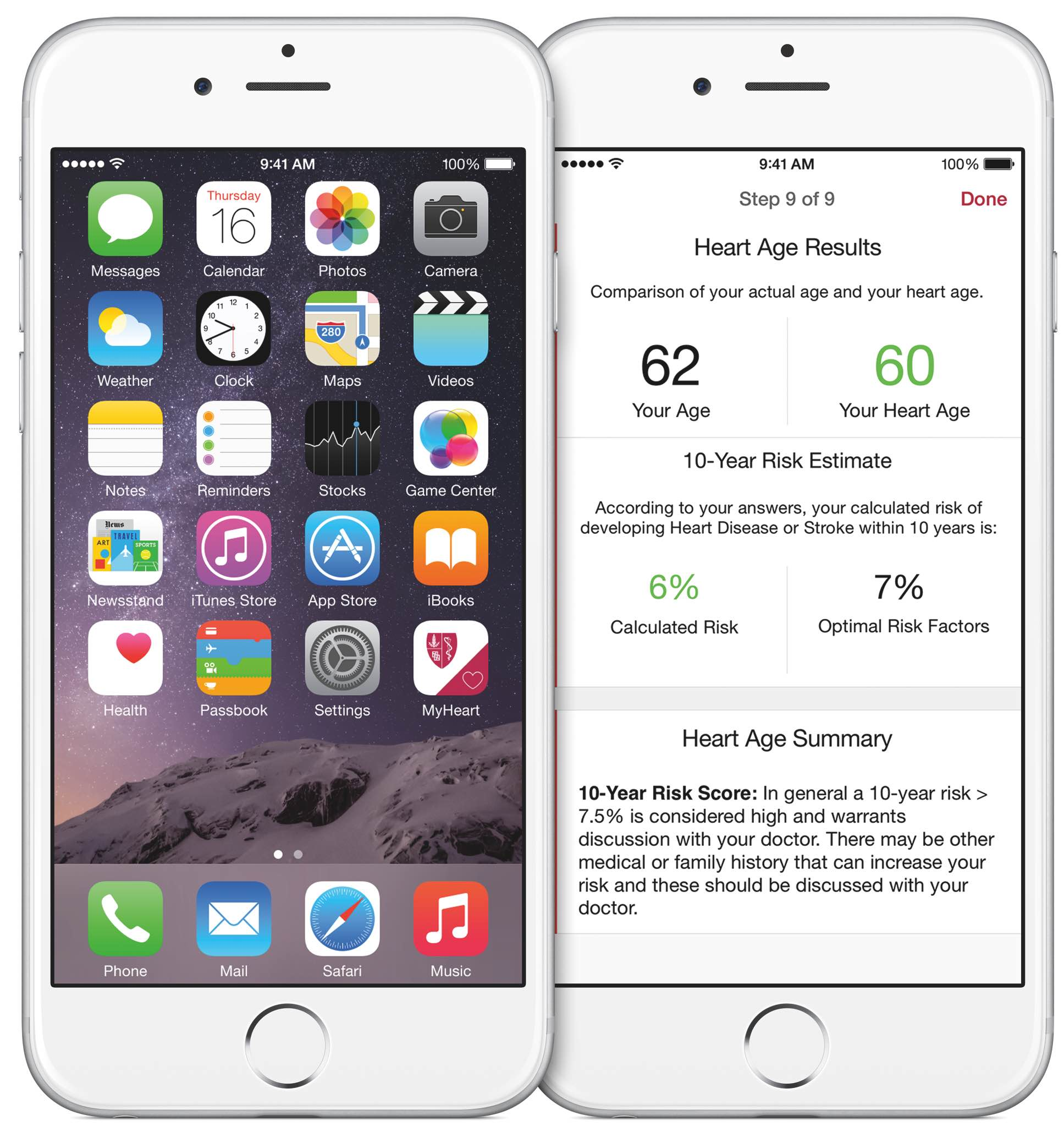 ResearchKit My Heart Counts iPhone screenshot 003