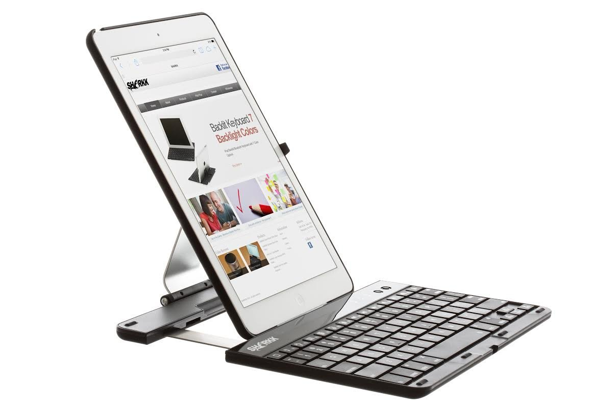 SHARKK wirless keyboard case for iPad air 2 2