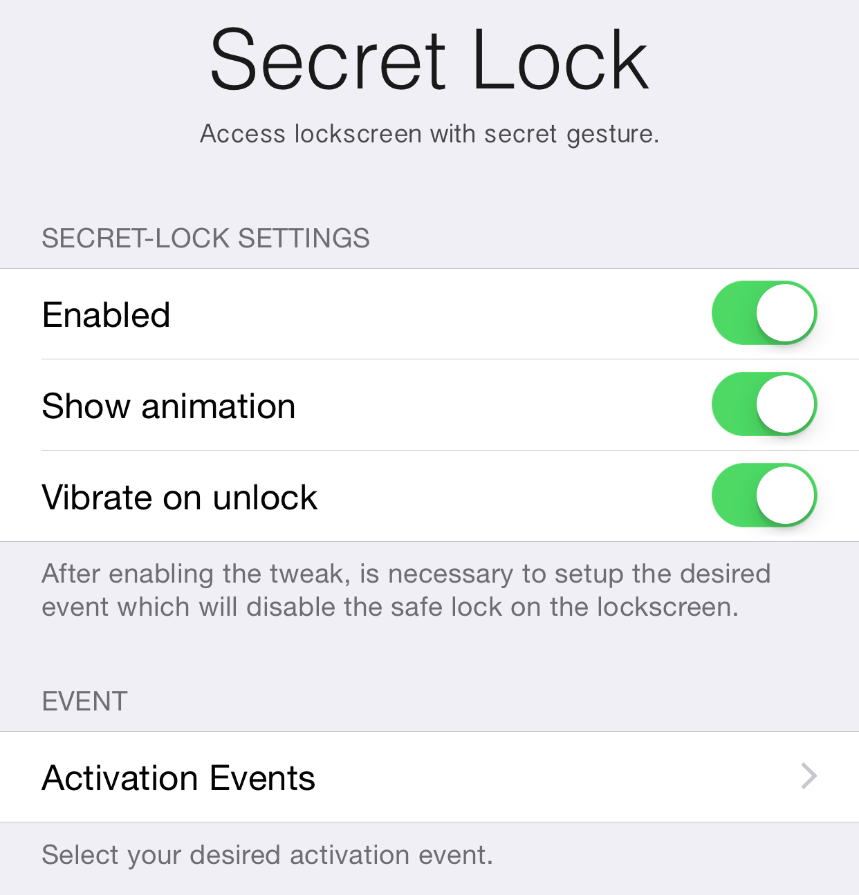 Secret-Lock
