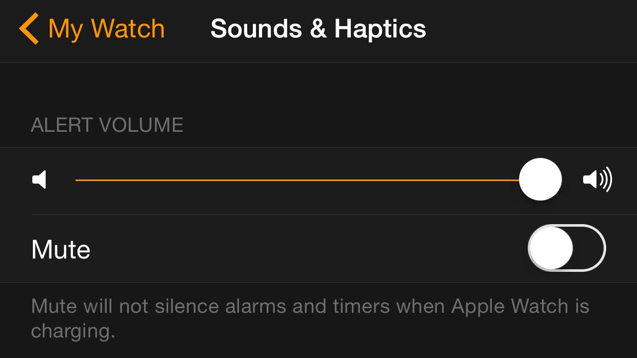 Sound and Haptics Apple Watch App