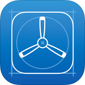 TestFlight for iOS app icon small