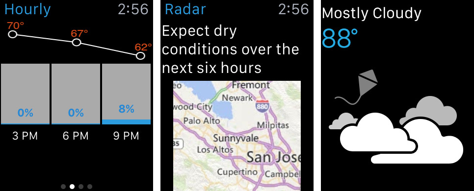 The Weather Channel Apple Watch screenshot 001