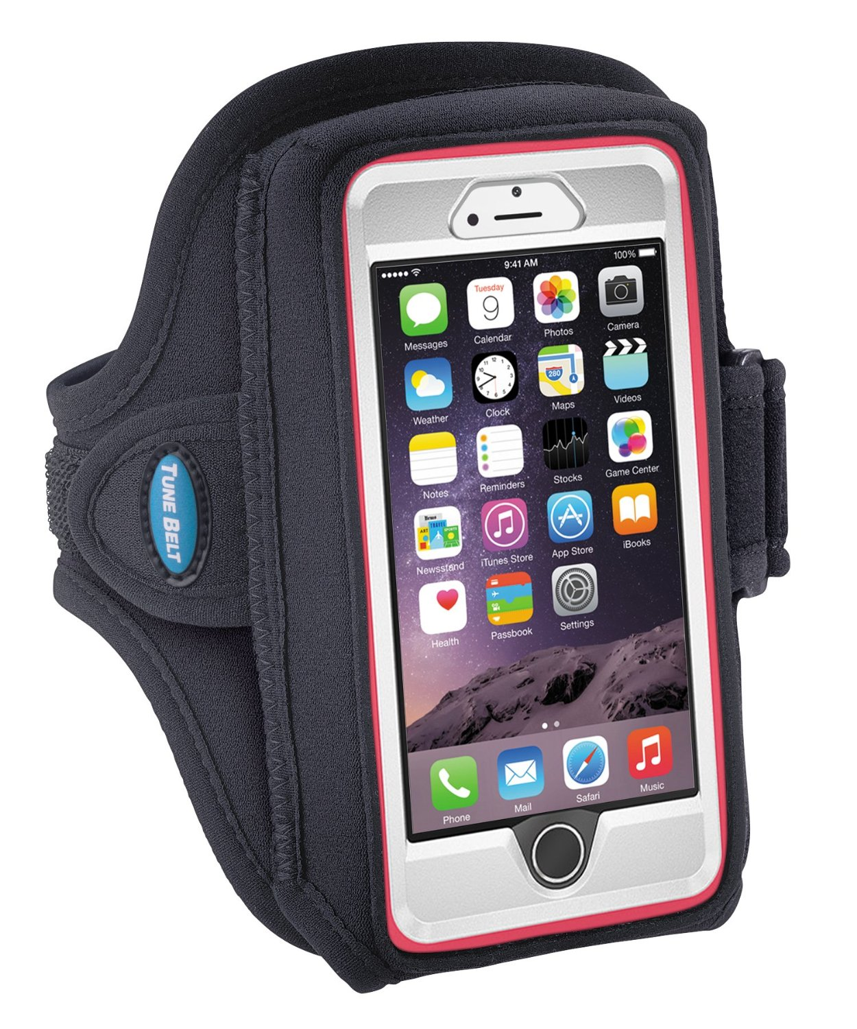 best website 7ba19 dec12 Tune Belt sports armband will fit an iPhone 6 with or without a case