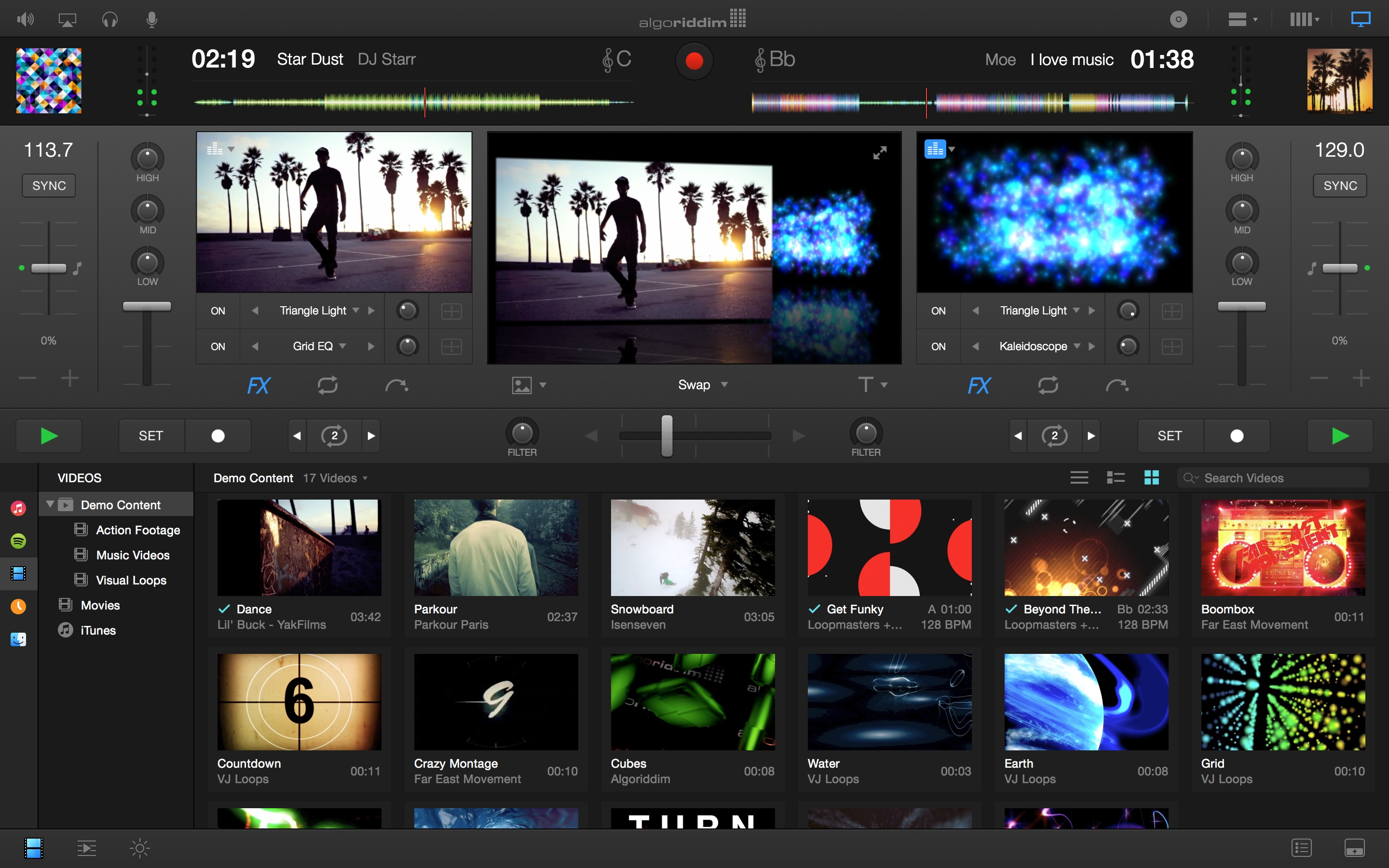 djay Pro 1.1 for Mac screenshot 001