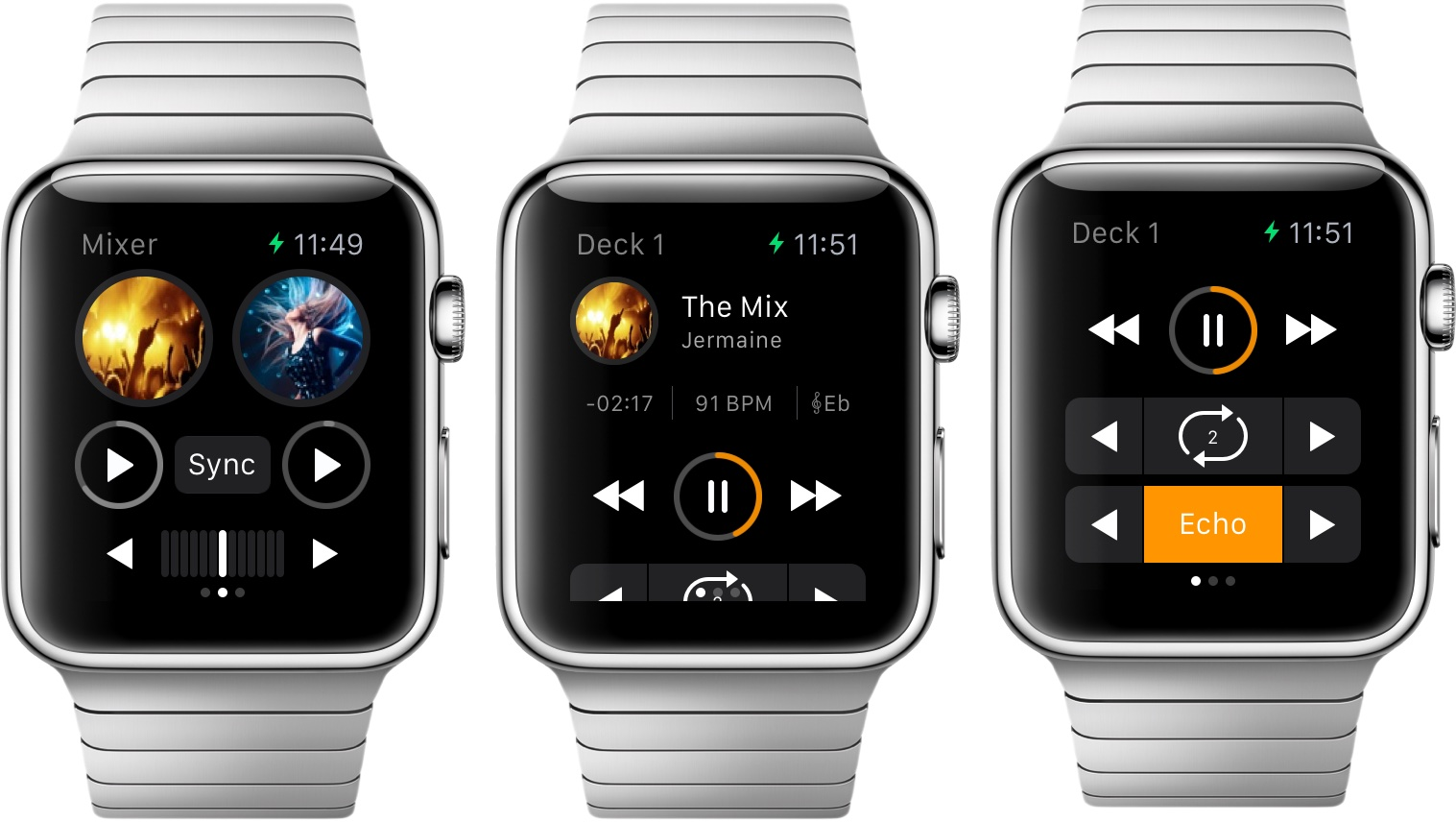 djay for Apple Watch screenshot 003