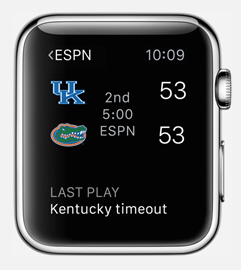 espn apple watch