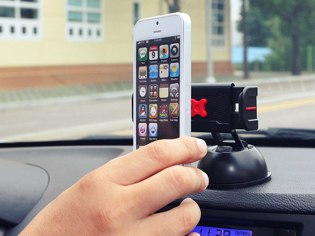 The ExoMount Touch car mount is an affordable driving companion