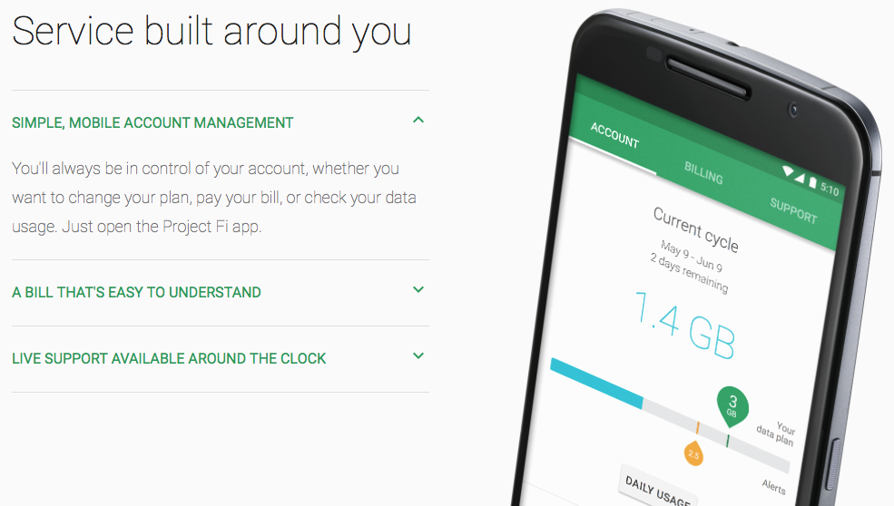 Google unveils 'Project Fi,' an MVNO with plans starting at $20 per