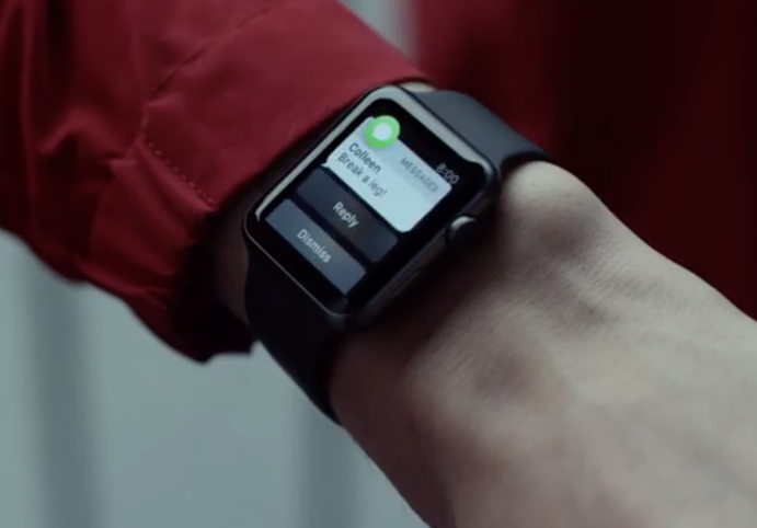 rise watch ad