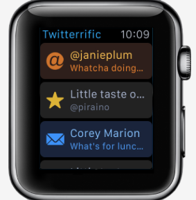 twitterrific 5 watch