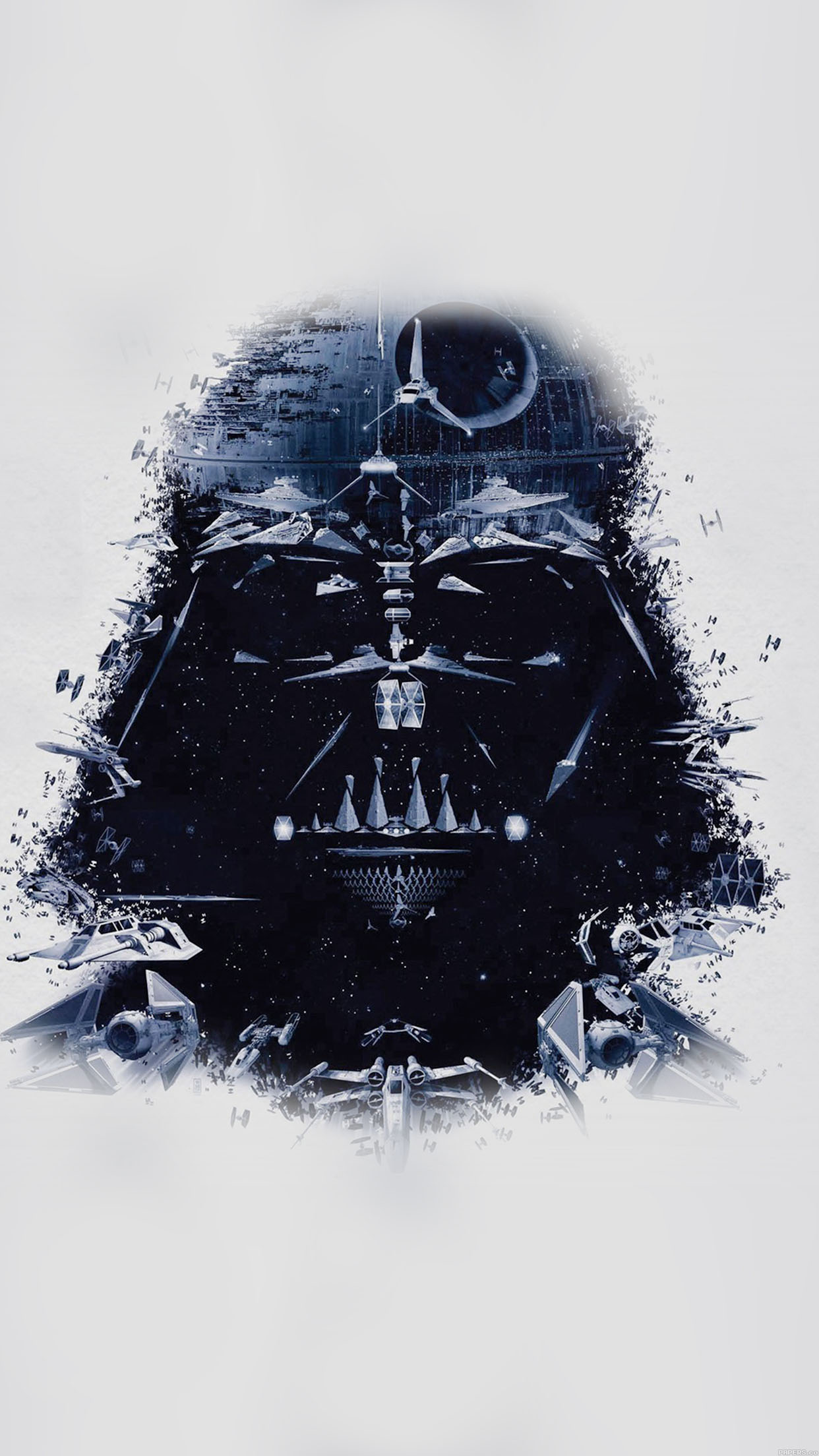 wallpaper darth vader art star wars illust 34 iphone6 plus wallpaper