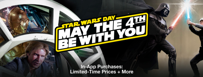 App Store Star Wars Day teaser