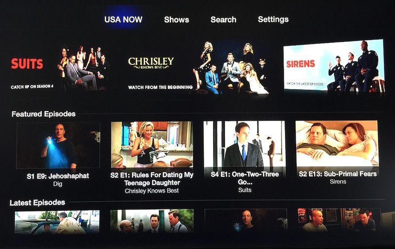 Apple TV USA Now