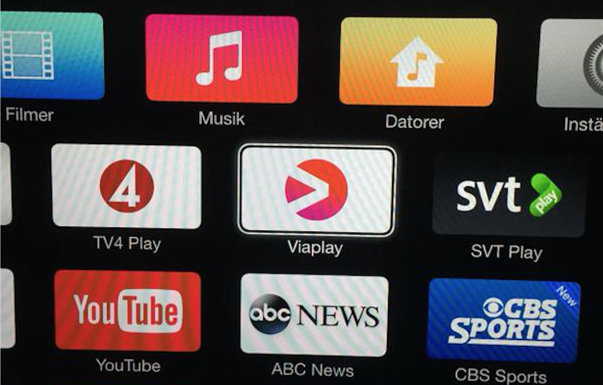 apple tv picks up new channels in uk, australia, japan, ireland and