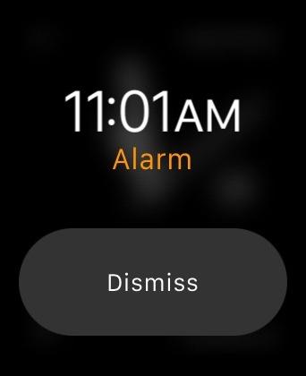 Apple Watch Alarm No Snooze