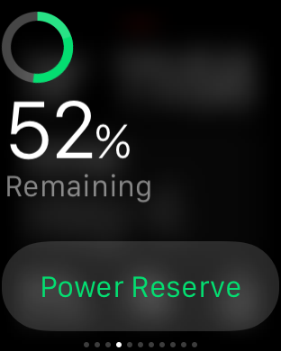 Apple Watch Battery Glance