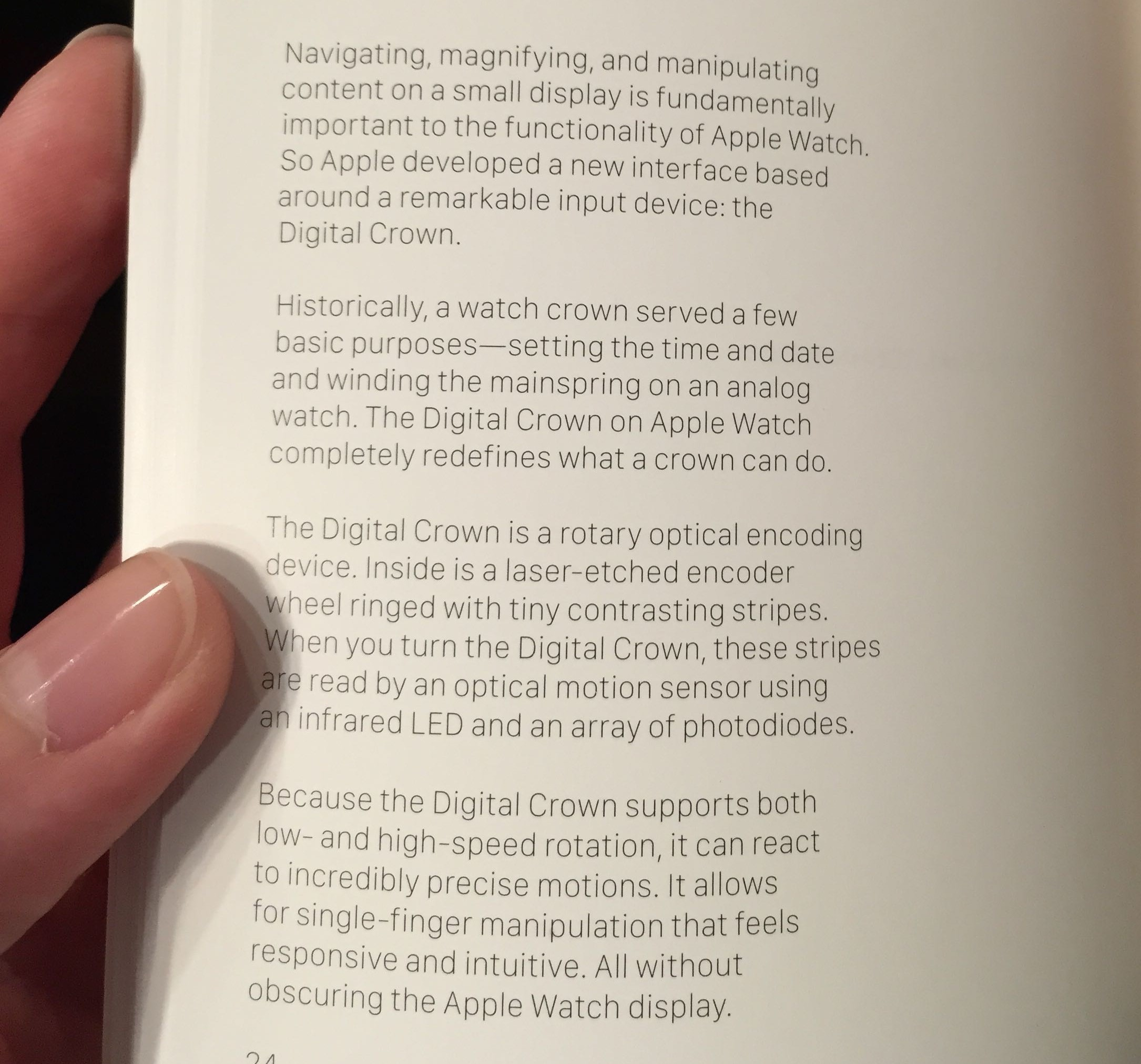 Apple Watch Edition booklet Digital Crown 001