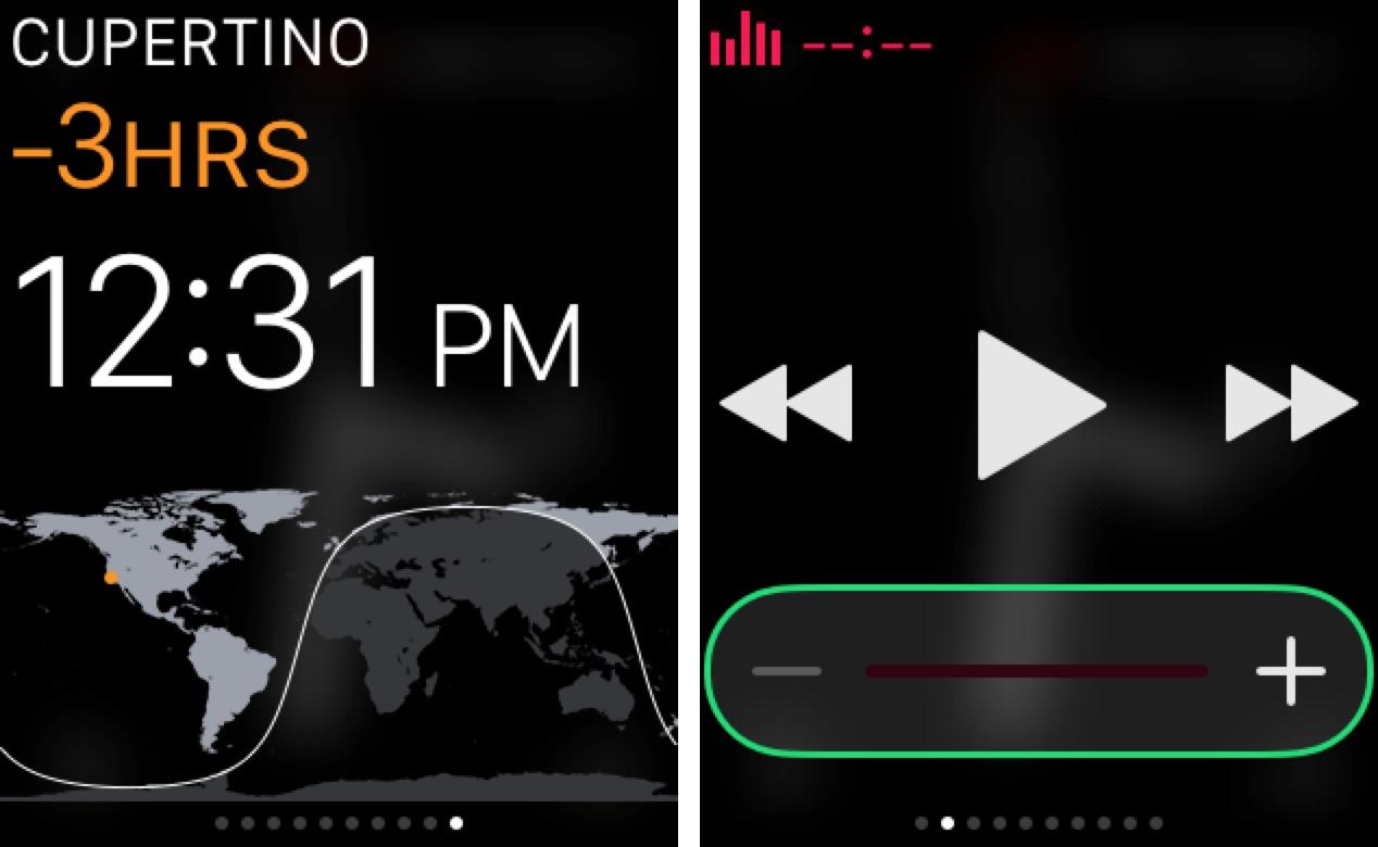 Apple Watch Glances 2