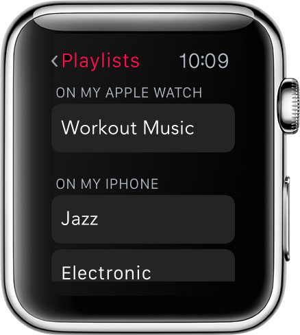 Apple Watch Music 003