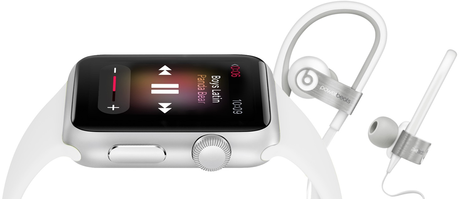 Apple Watch Music Bluetooth headset teaser 002
