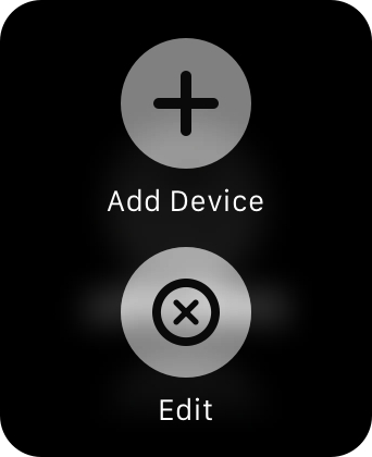 Apple Watch Remote app Edit Library