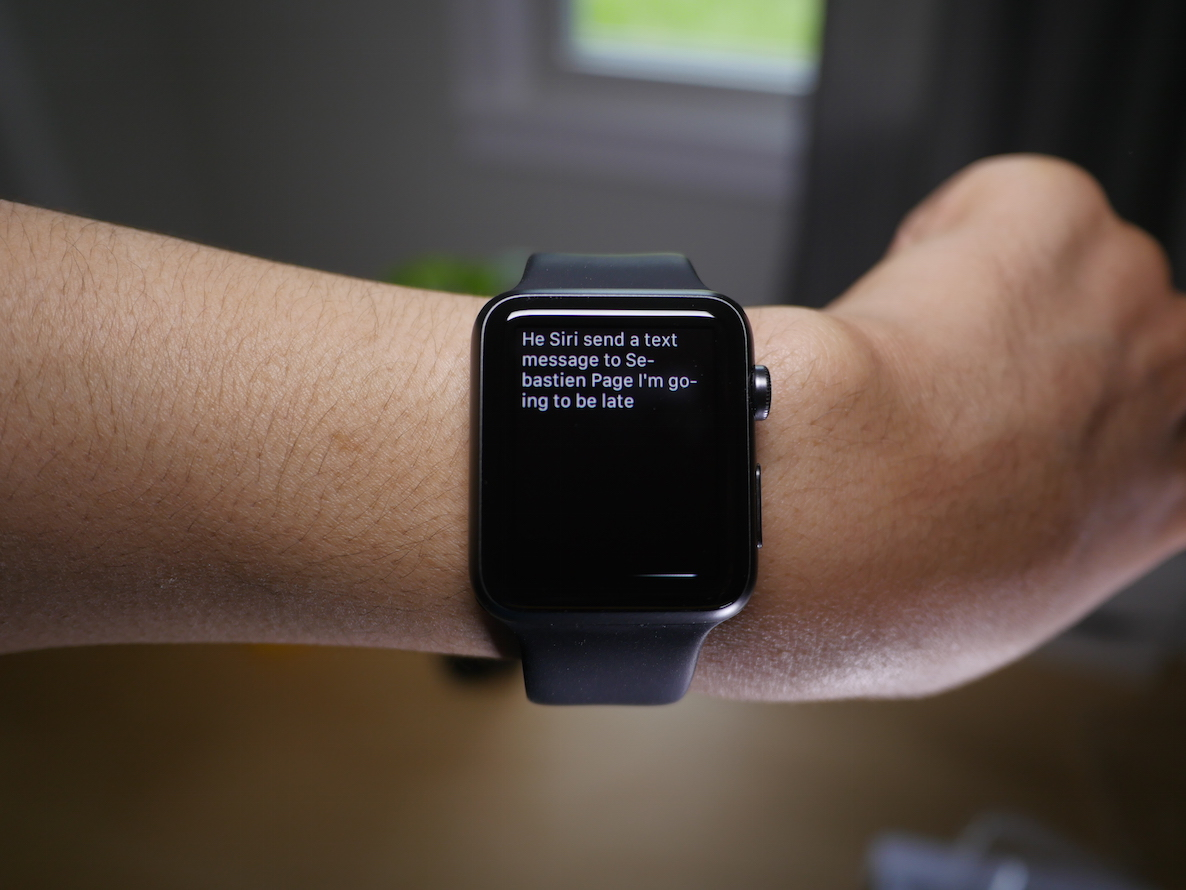Apple Watch Siri Hands Free 2