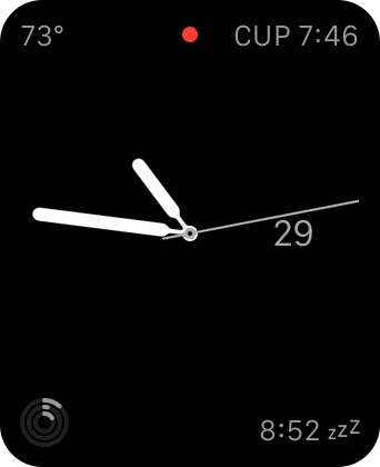 Apple Watch Snooze Complication