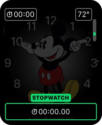 Apple Watch Stopwatch complication