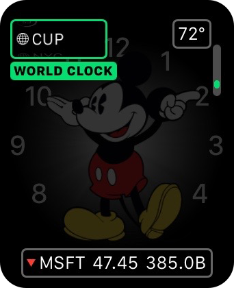 Apple Watch World Clock Complication