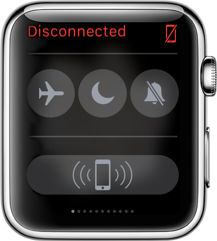 Apple Watch disconnected 001