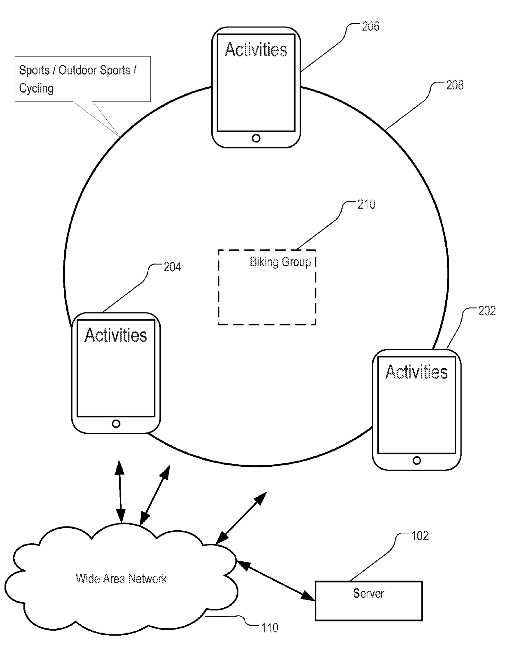 Apple patent lifestyle social groups drawing 001