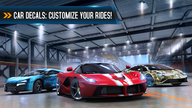 Asphalt 8 - Airborne 1.9.1 for iOS iPhone screenshot 001