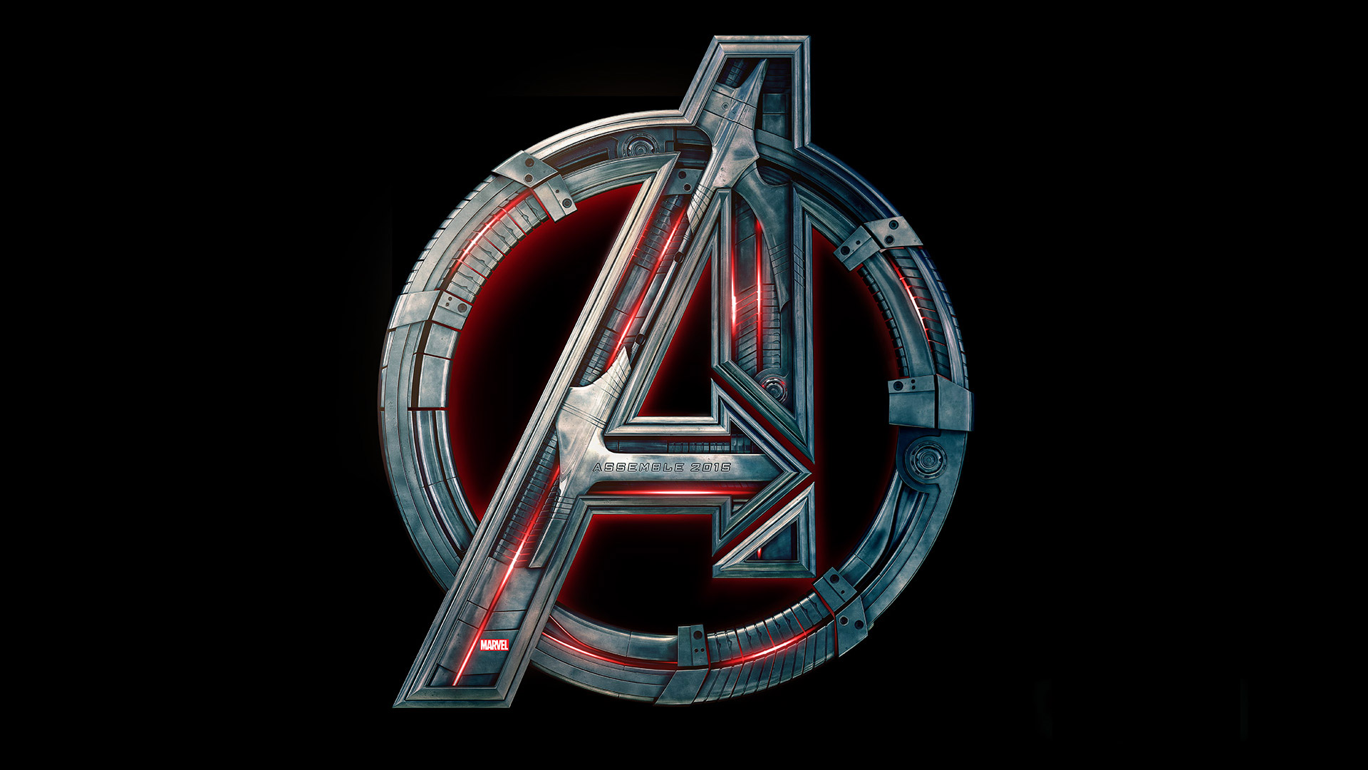 Avengers 2 Age of Ultron Logo Wallpaper HD1
