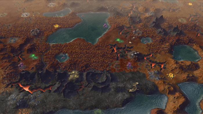 Civilization - Beyond Earth Rising Tide expansion for OS X Mac screenshot 001