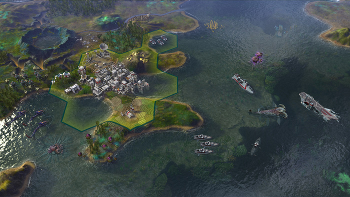 Civilization - Beyond Earth Rising Tide expansion for OS X Mac screenshot 003